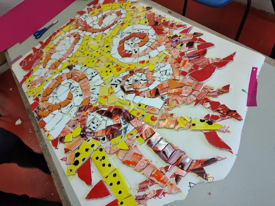 Mosaic_project_St Barnabas Primary School, Bristol (UK)